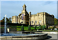 SE1535 : The Mughal Garden and Cartwright Hall, Lister Park, Bradford by habiloid