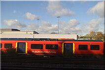 TQ2572 : Wimbledon Traincare Depot by N Chadwick