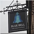 SK4933 : The sign of The Blue Bell by David Lally