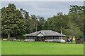 NT9239 : Tillside Cricket Club by Ian Capper