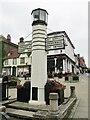 TL8564 : Bury St Edmunds - Pillar of Salt by Colin Smith