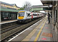 SS9079 : Transport for Wales Class 170 dmu in Bridgend station by Jaggery