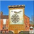 TM1274 : Yaxley village sign by Adrian S Pye