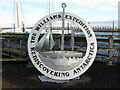 NZ3281 : 'Rediscovering Antarctica' Sculpture, Quay Road, Blyth by Geoff Holland
