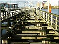 NZ3281 : Blyth Staithes, Quay Road, Blyth by Geoff Holland