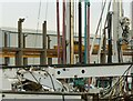 SK6240 : Piling rigs by Alan Murray-Rust