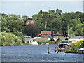 TG3207 : Brundall - River Yare by Colin Smith