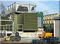 SO8754 : Worcestershire Royal hospital - combined heat and power module by Chris Allen