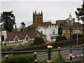 SO7745 : Rooftops of Malvern by Pierre Marshall