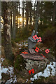 NC8200 : Memorial among the Trees on Ben Bhraggie, Sutherland by Andrew Tryon