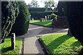 SP4871 : Dunchurch churchyard by Stephen McKay