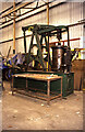NZ3065 : Newcastle Museum Store - Glemsford Silk Mill engine by Chris Allen