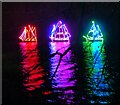 "SP4315 : Blenheim Illuminations - (5) - ""I saw three ships ..."" by Rob Farrow"