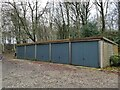 SE2444 : Garages at Far Row by Stephen Craven