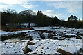 SE2854 : Stream and snow by DS Pugh