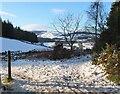 NT2339 : Winter scene at Manor Sware by Jim Barton