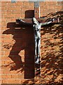SO8540 : Crucifix on St Joseph's church by Philip Halling