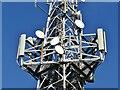 SU9748 : Hogs Back Transmitter Station by Colin Smith