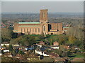 SU9850 : Guildford Cathedral by Colin Smith
