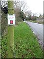 ST3345 : An unusual bus stop by Neil Owen