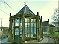 SE1646 : Gazebo at The Grange, Burley-in-Wharfedale by Stephen Craven