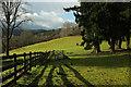 SX7980 : Farmland, Knowle by Derek Harper