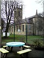 SJ9494 : St George's Church by Gerald England