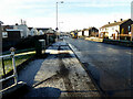 H4672 : Frosty footpath along Hospital Road, Campsie, Omagh by Kenneth  Allen