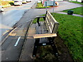 ST4287 : Betty Kilby Memorial Bench, Newport Road, Magor, Monmouthshire by Jaggery