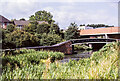 SO9286 : Canal basin with roving bridge, 1980 by Trevor Littlewood