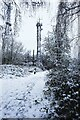 SO8073 : Transmitter mast, Burlish Top Nature Reserve, Stourport-on-Severn, Worcs by P L Chadwick