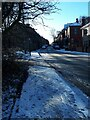 SE2435 : Westover Road on an icy morning by Stephen Craven