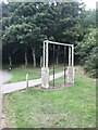 SJ8848 : Outdoor gym feature in Central Forest Park by Jonathan Hutchins