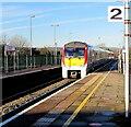 SS9079 : Class 175 dmu arriving at Platform 2, Bridgend Station by Jaggery
