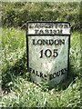 TF0732 : Old Milestone, on the A15, Bourne Road by Milestone Society