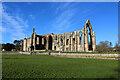 SE0754 : Bolton Priory under a Blue Winter Sky by Chris Heaton