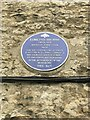 SP4416 : Blue plaque on wall of Garrett House, Woodstock by Jonathan Hutchins