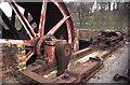 NT3773 : Prestongrange Museum - part erected winding engine by Chris Allen