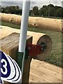 SP4414 : MIM clip on cross-country fence by Jonathan Hutchins