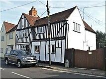 TL7835 : Castle Hedingham houses [5] by Michael Dibb