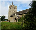 SO3710 : South side of the former St Teilo's Church, Llanarth, Monmouthshire by Jaggery