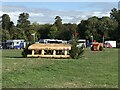 SP4415 : Cross-country fences 22A and B at Blenheim Horse Trials by Jonathan Hutchins