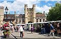 ST5545 : Market Place, Wells by habiloid