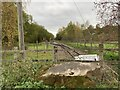 SJ8248 : North end of Apedale Valley Light Railway by Jonathan Hutchins