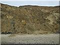 TG2639 : Cliffs near Sidestrand by Hugh Venables