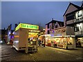 ST5545 : Wells Market Place on Carnival night by Jonathan Hutchins