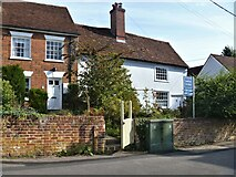 TL7835 : Castle Hedingham houses [44] by Michael Dibb