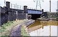 SO9792 : Walsall Canal - railway bridge south of Hempole Lane Bridge in 1979 by Trevor Littlewood