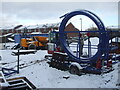 ST6268 : Icy pipes? by Neil Owen