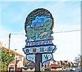 TG2415 : Spixworth village sign by Adrian S Pye